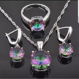 Swarovski Jewelry - Swarovski Elements 925 Silver Solitaire Ring NWT